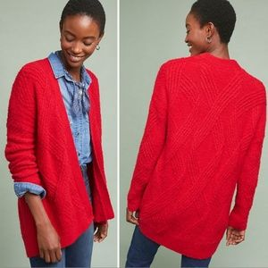 (Moth) Oversized cable knit cardigan NWT XS